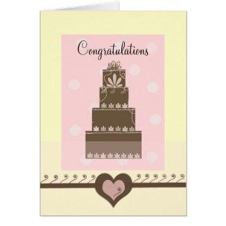 Félicitations de mariage carte de vœux