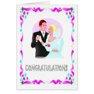 Félicitations ménages mariés cartes de vœux