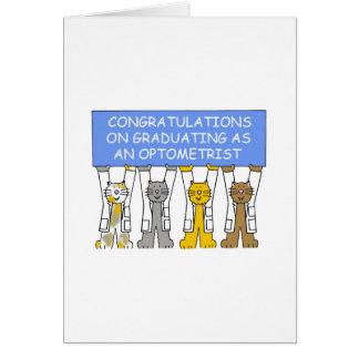 Félicitations sur recevoir un diplôme en tant cartes