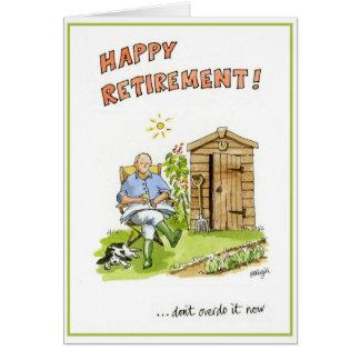 Félicitations sur votre carte de voeux de retraite