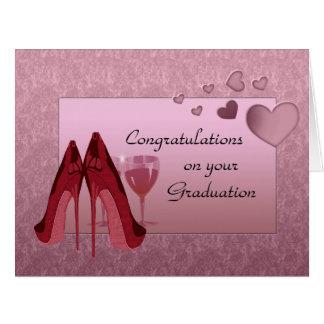 Félicitations sur votre carte de voeux d'obtention
