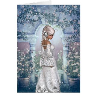 Félicitations sur votre mariage avec la jeune carte de vœux