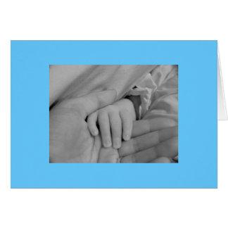 Félicitations sur votre nouveau bébé carte de vœux