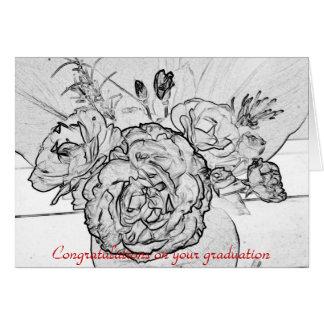 Félicitations sur votre obtention du diplôme cartes