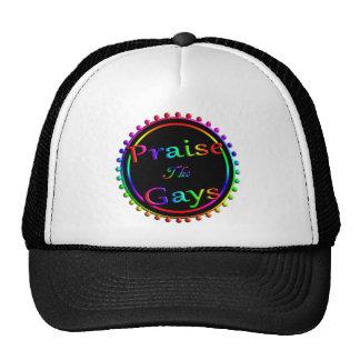 Félicitez les homosexuels casquettes