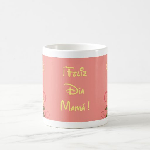 ¡ Feliz Día Mamá ! Tasse À Café