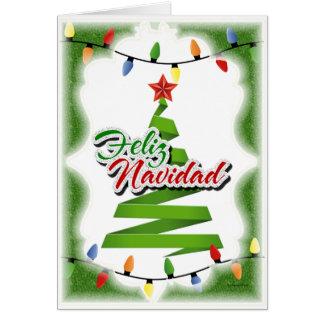 Feliz Navidad Carte De Vœux