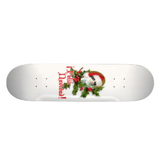 Feliz Navidad - chaton de Noël Skateboard