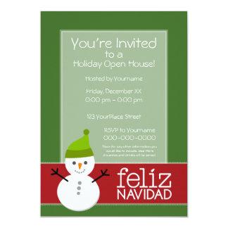Feliz Navidad - invitation de partie