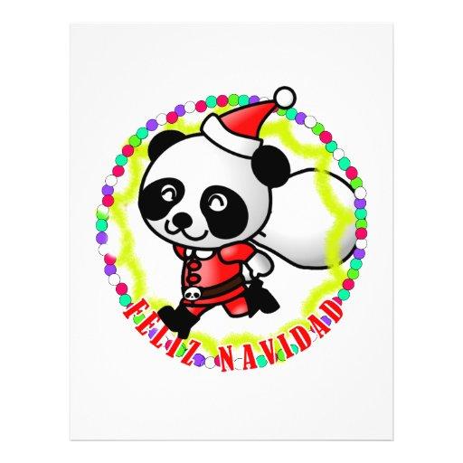Père Noel Mignon Panda Mignon Père Noël de