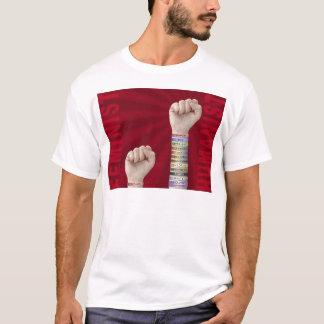 Féministe contre l'humaniste t-shirt