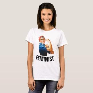 FÉMINISTE, Rosie le T-shirts de rivoir