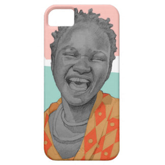femme africaine coque iPhone 5