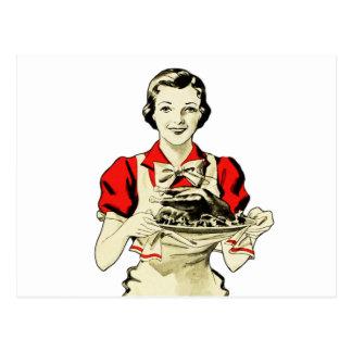 Femme au foyer vintage cartes postales for Femme au foyer 1960