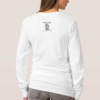 Femme avec la cigogne t-shirt