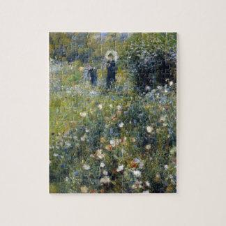 Renoir puzzles renoir puzzles casse t tes for Portent un parasol dans les jardins
