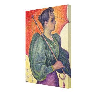Femme avec un parasol, 1893 toiles