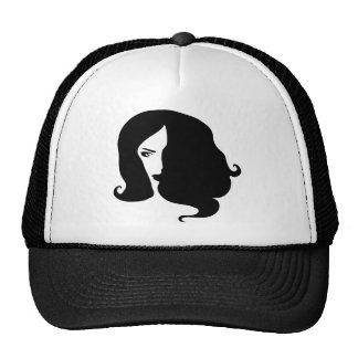 femme casquette trucker