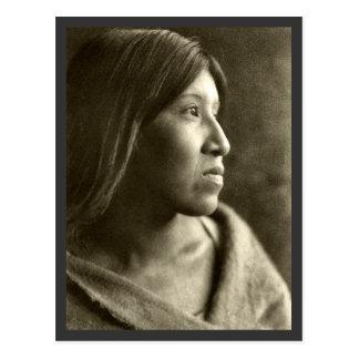Femme de Cahuilla de désert Carte Postale