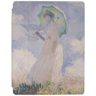 Femme de Claude Monet | avec le parasol tourné Protection iPad