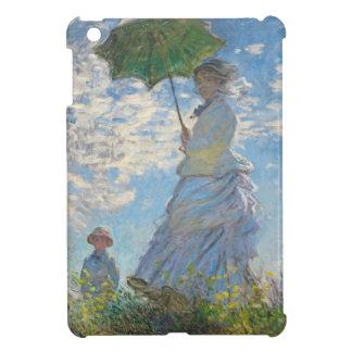 Femme de Claude Monet | avec un parasol Coque Pour iPad Mini