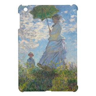 Femme de Claude Monet | avec un parasol Étuis iPad Mini
