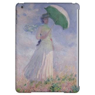 Femme de Claude Monet | avec un parasol tourné à