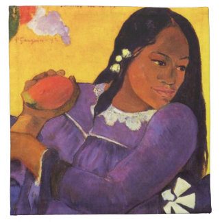 Femme de Gauguin avec une serviette de mangue