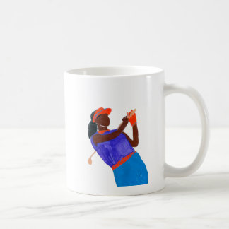 Femme de golfeur mug