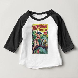 Femme de jungle t-shirt pour bébé