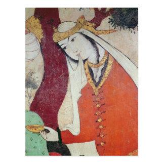 Femme de la cour de Shah Abbas I, 1585-1627 Carte Postale