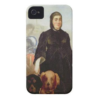 Femme de Manet | avec des chiens, 1858 Coques iPhone 4