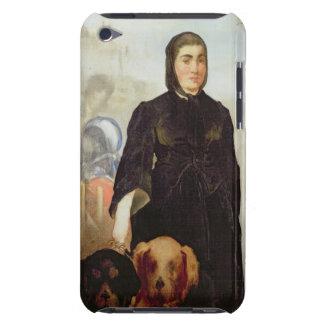 Femme de Manet   avec des chiens, 1858 Coques iPod Case-Mate