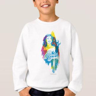 Femme de merveille 1 coloré sweatshirt
