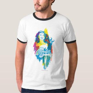Femme de merveille 1 coloré t-shirt