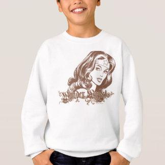 Femme de merveille Brown Sweatshirt