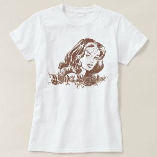 Femme de merveille Brown T-shirt
