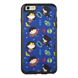 Femme de merveille de Chibi, Superman, et motif de Coque OtterBox iPhone 6 Et 6s Plus