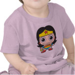 Femme de merveille de Chibi T-shirts