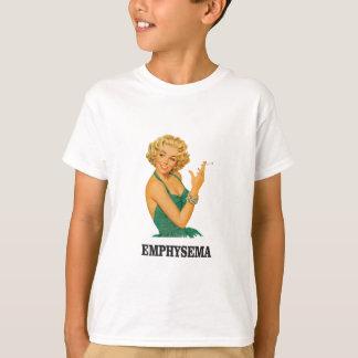 femme de mise à mort d'emphysème t-shirt