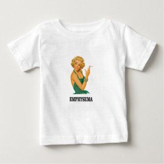 femme de mise à mort d'emphysème t-shirt pour bébé