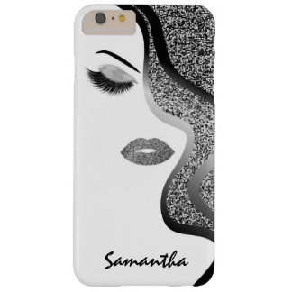 Femme de parties scintillantes coque iPhone 6 plus barely there
