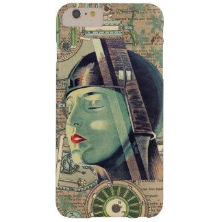 Femme de Steampunk de métropole Coque iPhone 6 Plus Barely There