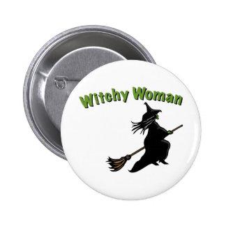Femme de Witchy Badges