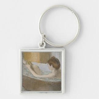 Femme d'Edgar Degas | à son Bath, épongeant sa Porte-clés