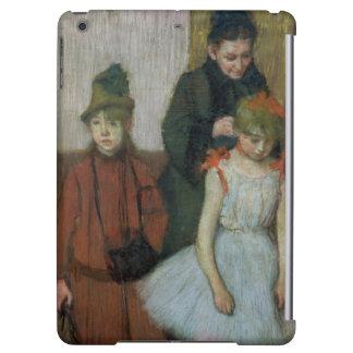 Femme d'Edgar Degas | avec deux petites filles