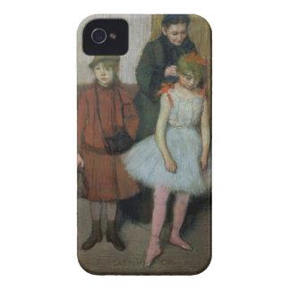 Femme d'Edgar Degas | avec deux petites filles Coque Case-Mate iPhone 4