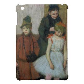 Femme d'Edgar Degas | avec deux petites filles Étuis iPad Mini
