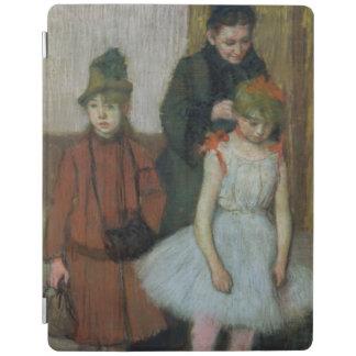 Femme d'Edgar Degas | avec deux petites filles Protection iPad