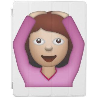 Femme disant oui - Emoji Protection iPad